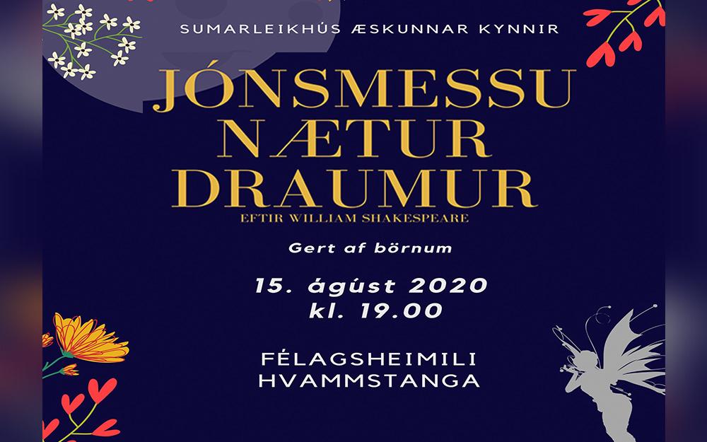 Jónsmessu Nætur Draumur á Hvammstanga