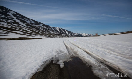 Búið er að opna Lágheiðina
