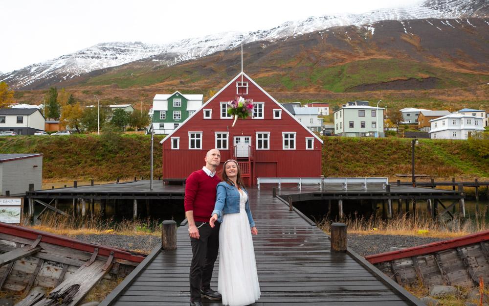 Giftu sig á Siglufirði