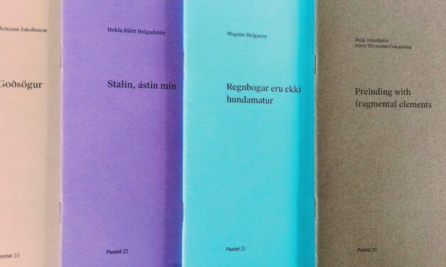 Pastel ritröð – fjögur ný listaverk