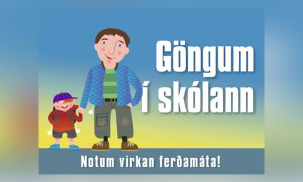 Göngum í skólann átakið er byrjað!