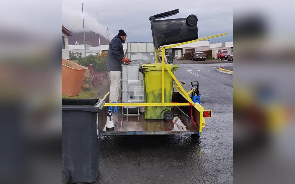 Sorptunnuþrif í Fjallabyggð