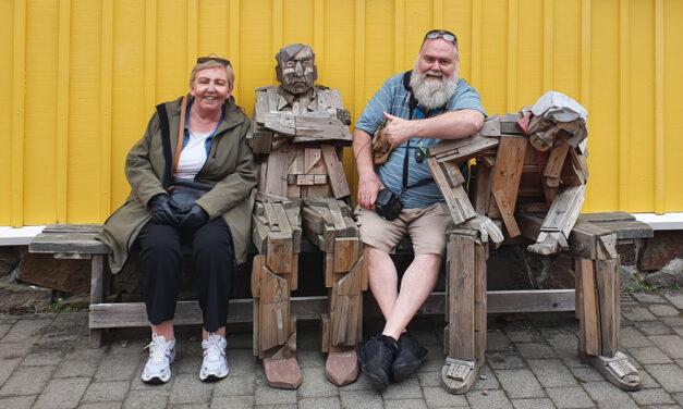 Marinó Flóvent bakari er ættaður frá Siglufirði