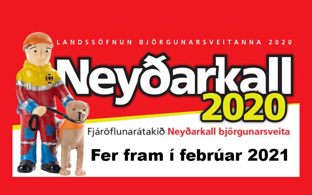 Sölu á neyðarkallinum frestað