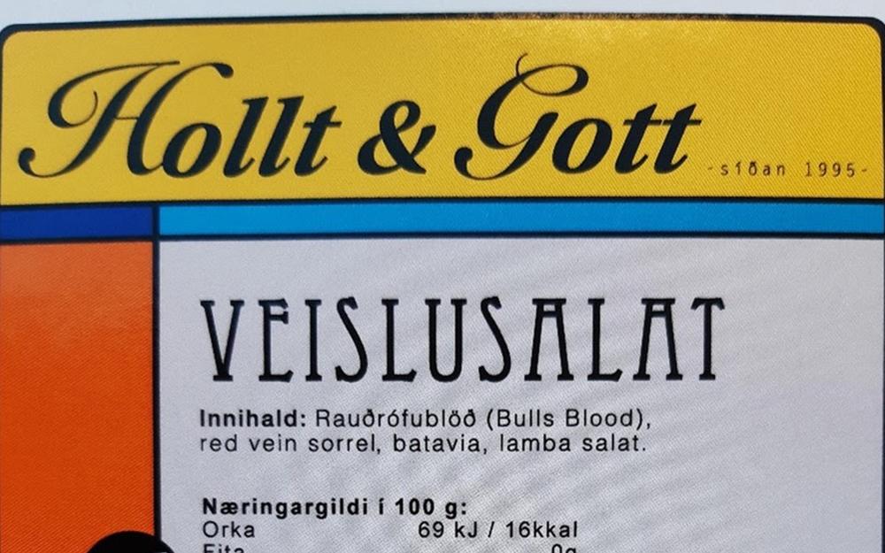 Aðskotahlutur (fuglsvængur) í salati