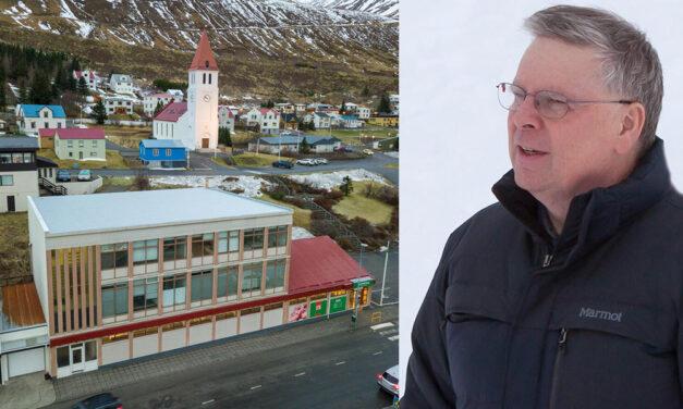 Róbert Guðfinnsson selur á Siglufirði