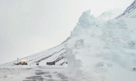 Snjóflóð í Ólafsfjarðarmúla