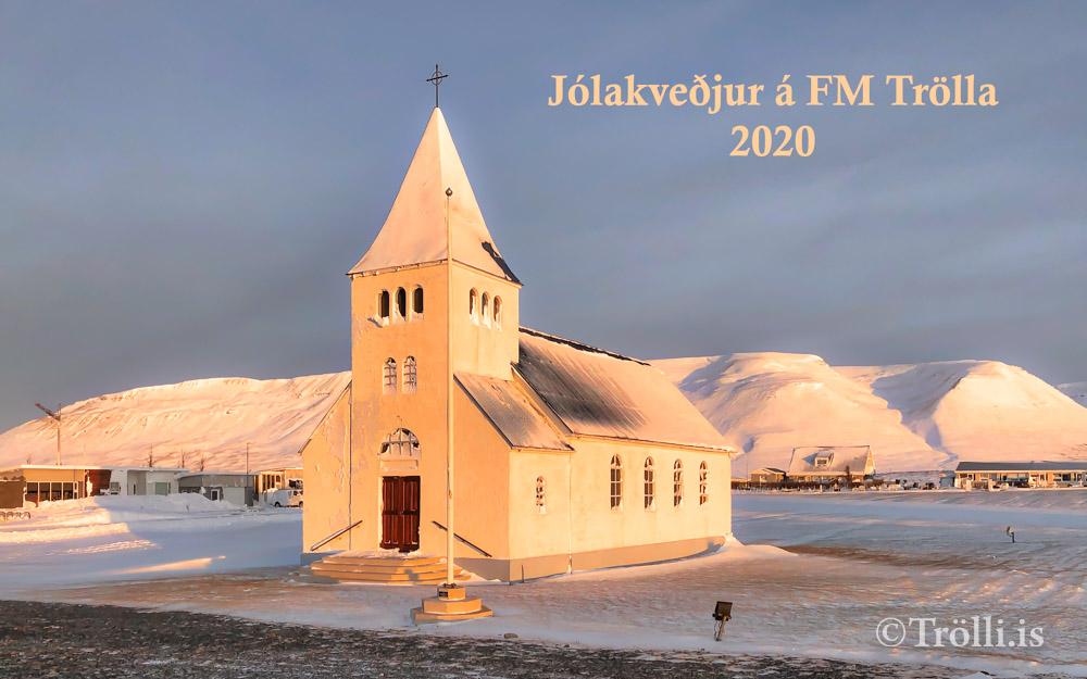 Jólakveðjur á FM Trölla 2020