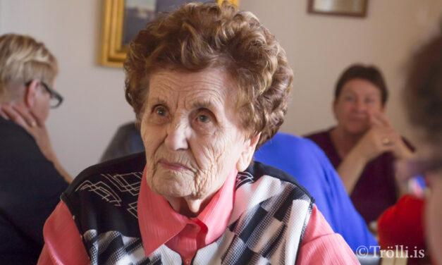 Nanna Franklín bólusett