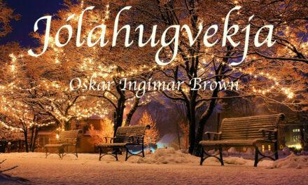 Oskar Brown flytur jólahugvekju á FM Trölla