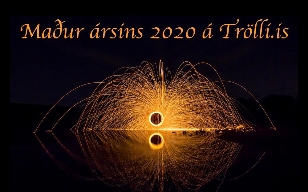 Maður ársins 2020 á Trölli.is