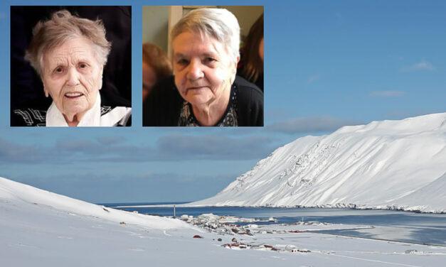Elstu systur landsins á Siglufirði