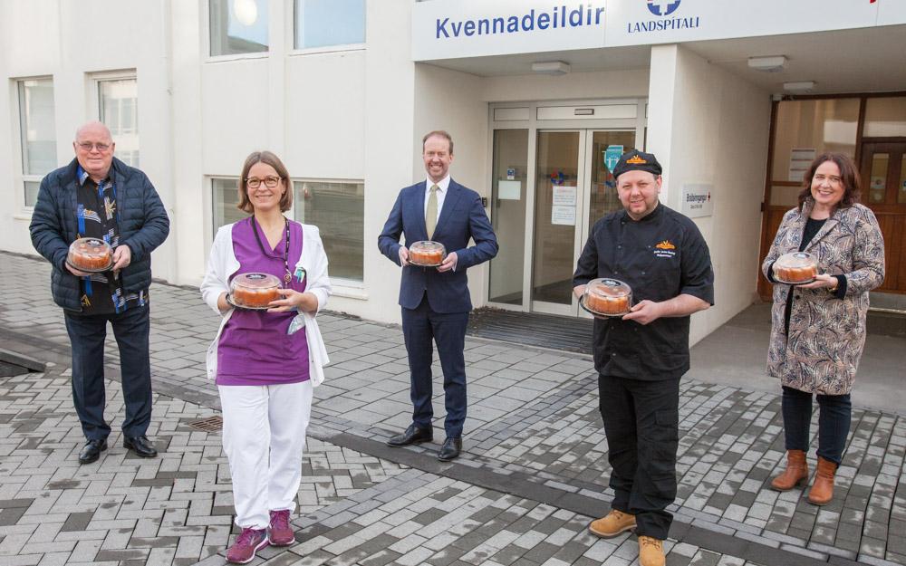 Ljósmæður tóku á móti fyrstu Köku ársins