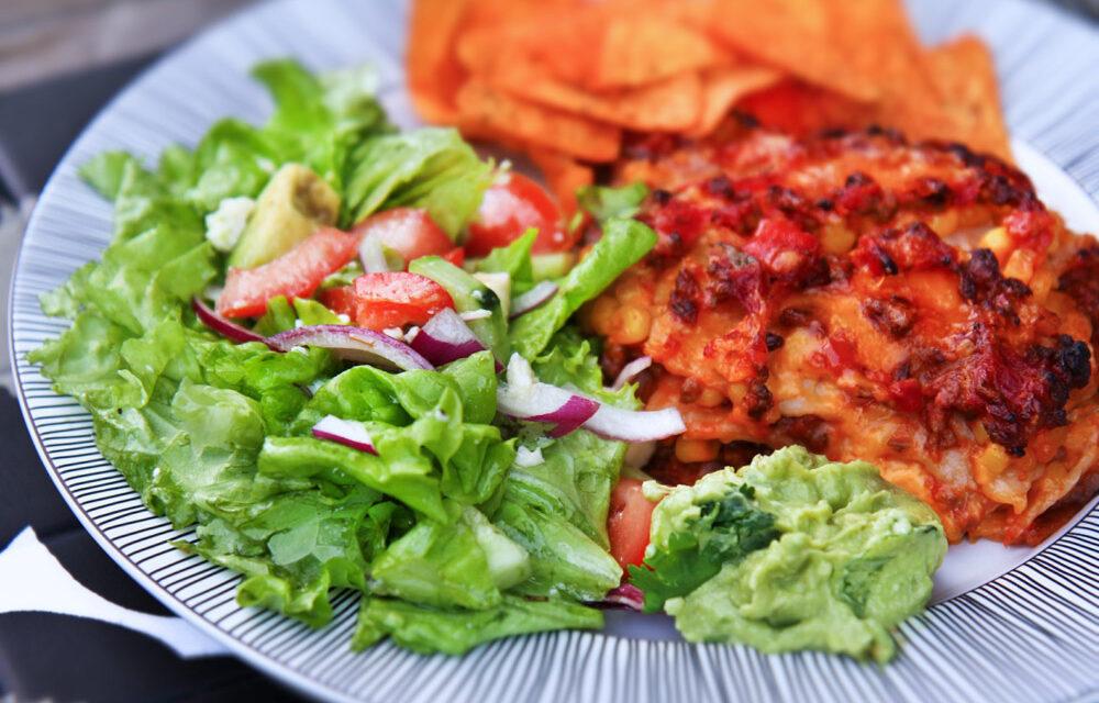 Mexíkóskt lasagna