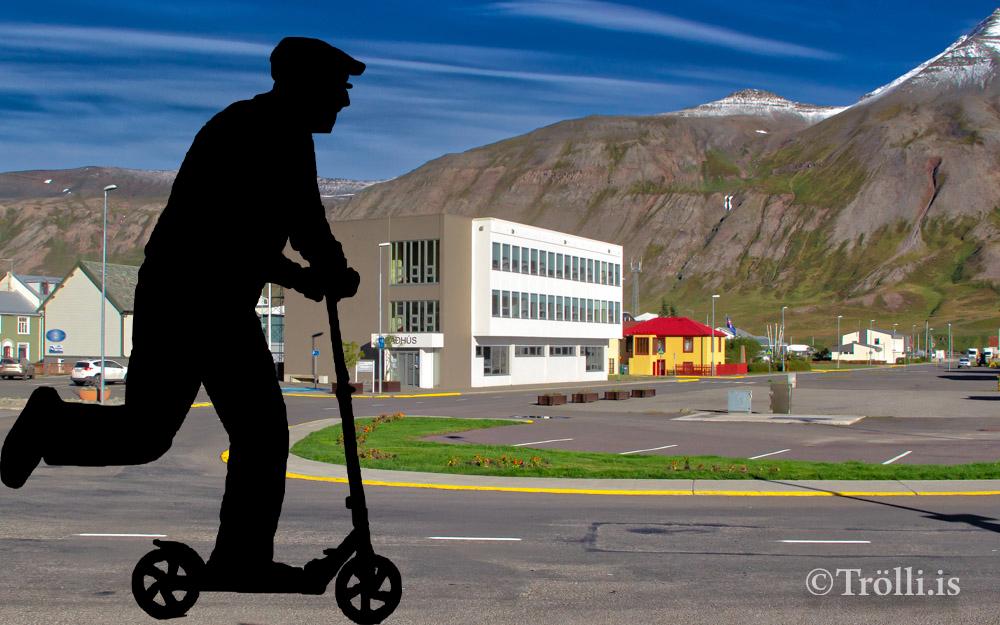 Hopp rafhlaupahjóla leiga í Fjallabyggð