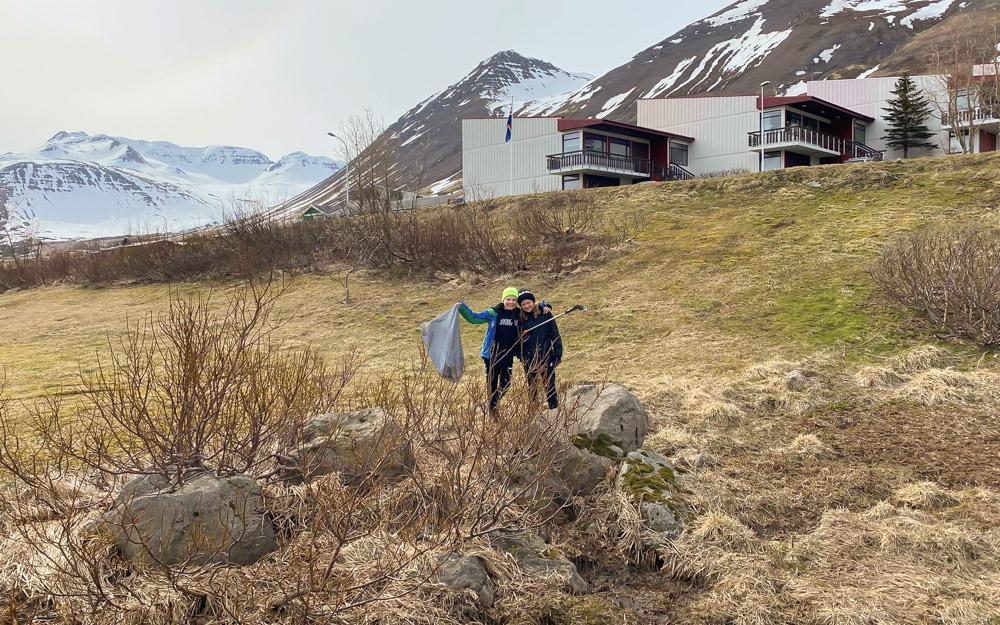 Heilmikið plokkað upp á Siglufirði