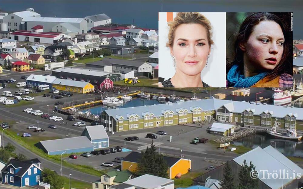 Tengdasonur Kate Winslet ættaður frá Siglufirði