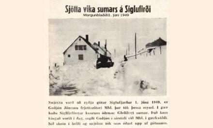 Snjóasumarið 1949
