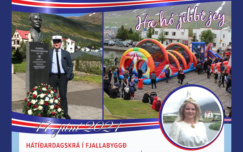 Hátíðardagskrá 17. júní í Fjallabyggð