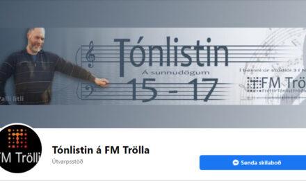 Tónlistin í dag á FM Trölla