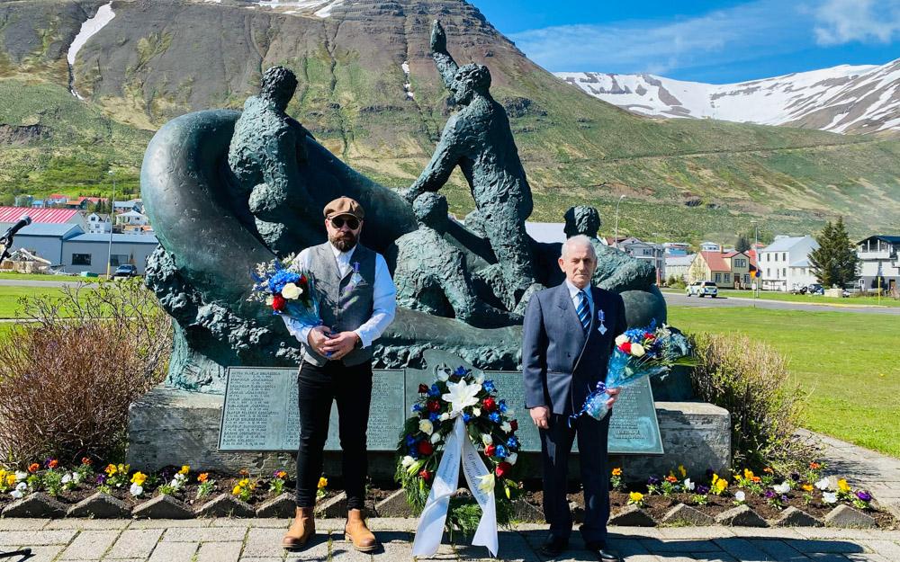 Tveir sjómenn heiðraðir á Siglufirði á Sjómannadaginn