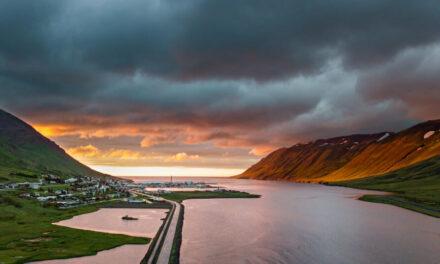 Magnaðar myndir frá Siglufirði
