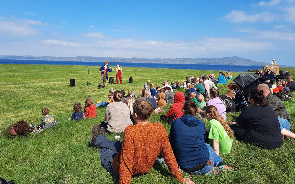 Mikið fjör á Náttúrubarnahátíð