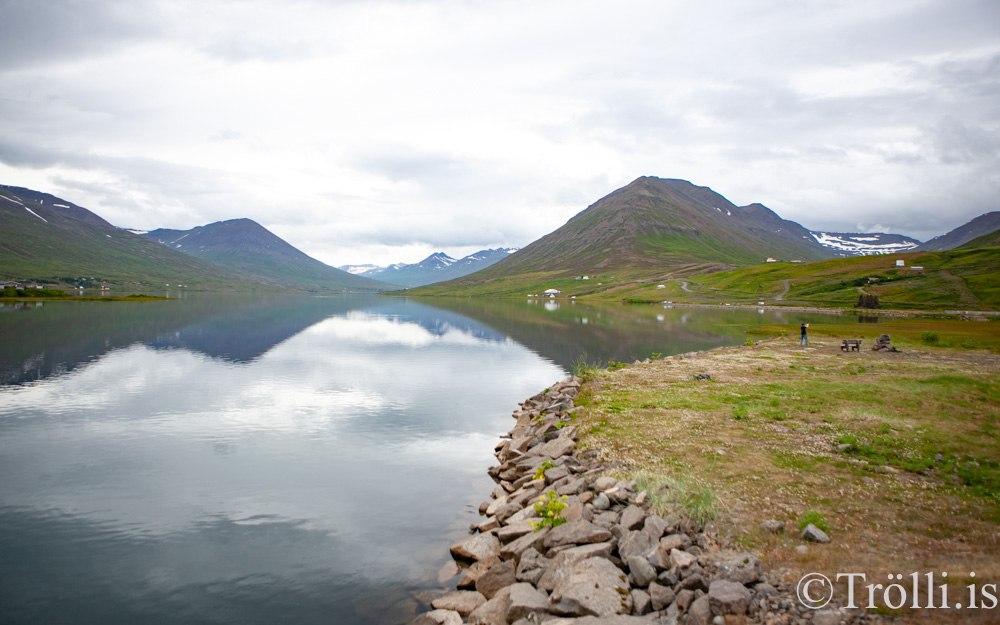 Bás ehf lægstbjóðandi vegna göngustígs við Ólafsfjarðarvatn