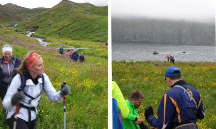 Sunnudagsganga Ferðafélagsins Trölla yfir Rauðskörð
