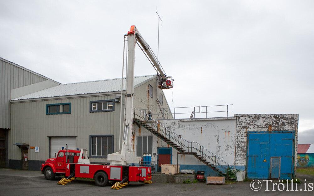 Nýtt loftnet á Siglufirði