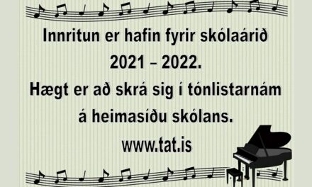 Innritun er hafin hjá Tónlistaskólanum á Tröllaskaga