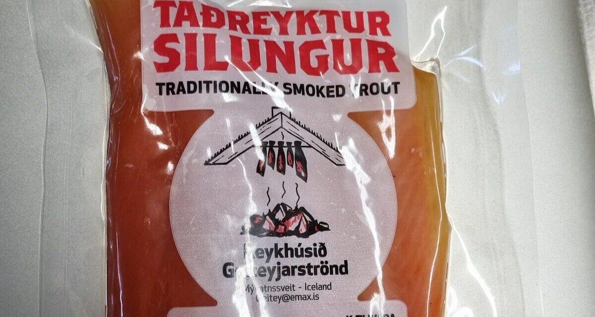 Listería í taðreyktum silungi