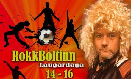 RokkBoltinn í beinni á FM Trölla í dag kl. 14:00
