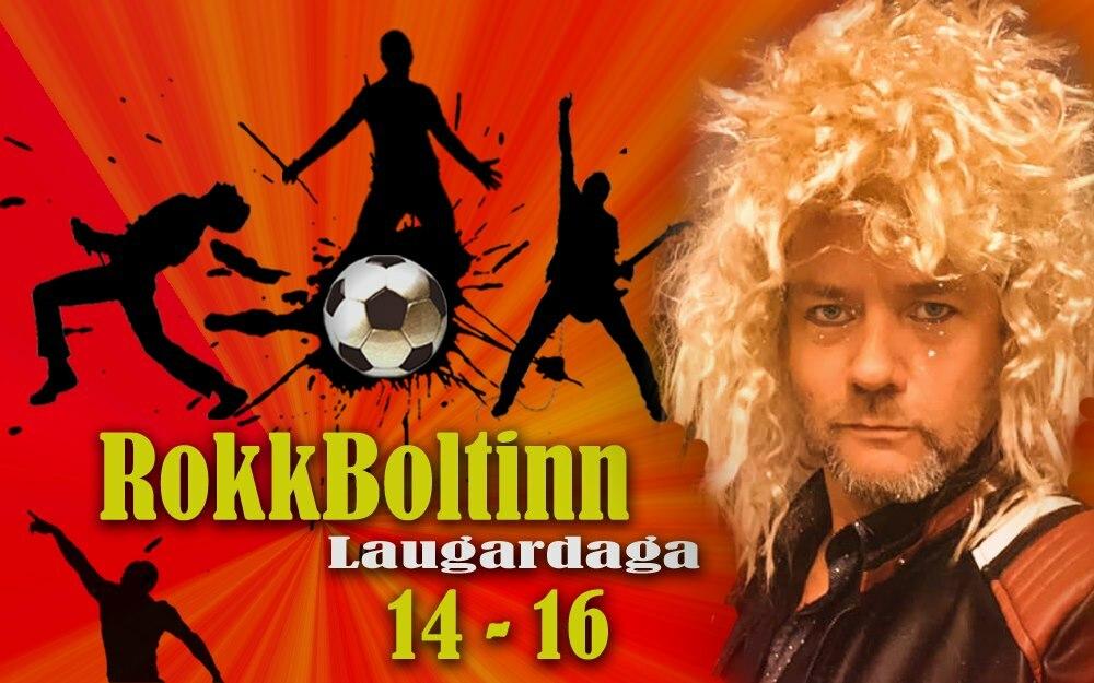 Nýr þáttur á FM Trölla í dag – RokkBoltinn