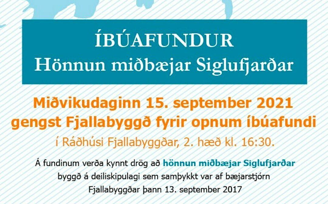 Íbúafundur – Hönnun miðbæjar Siglufjarðar