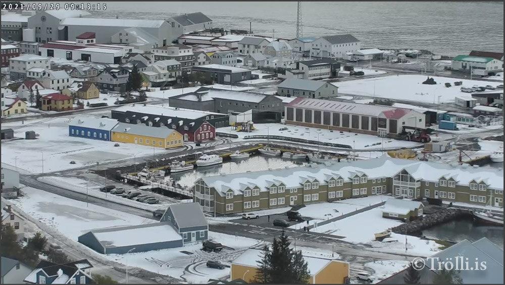 Covid-19 og vonskuveður