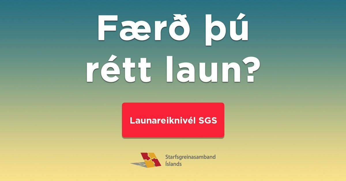 Færð þú rétt laun?