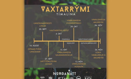 Umsóknarfrestur rennur út á miðnætti mánudaginn 20. september