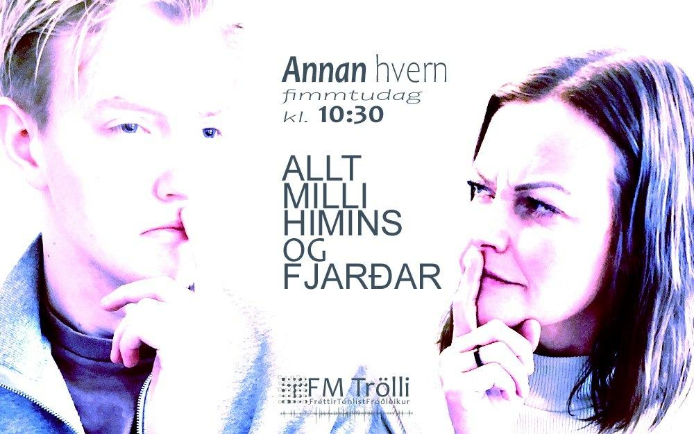Nýr þáttur á FM Trölla – byrjar í fyrramálið kl. 10:30